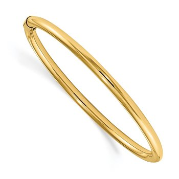 14k Madi K 2.5mm Slip-on Baby Bangle