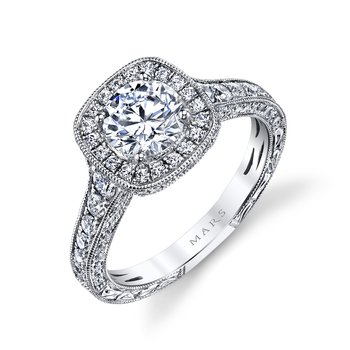 MARS 26169 Diamond Engagement Ring 0.82 ct tw