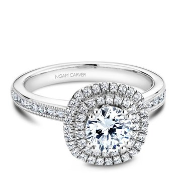 Noam Carver Vintage Engagement Ring B145-08A
