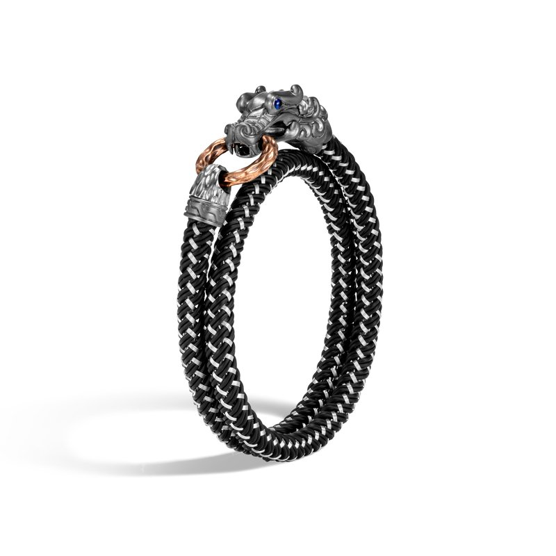 JOHN HARDY Legends Naga Wrap Bracelet In Blackened Silver and Bronze