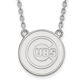 Gold Chicago Cubs MLB Necklace