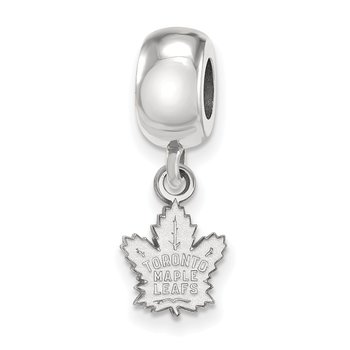 Sterling Silver Toronto Maple Leafs NHL Bead