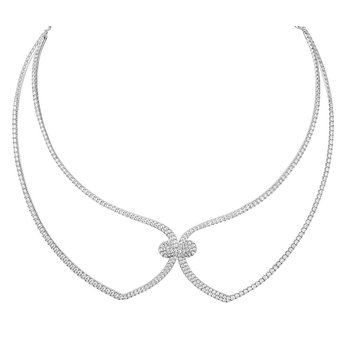 Diamond Fashion Necklace - FDNK1270W