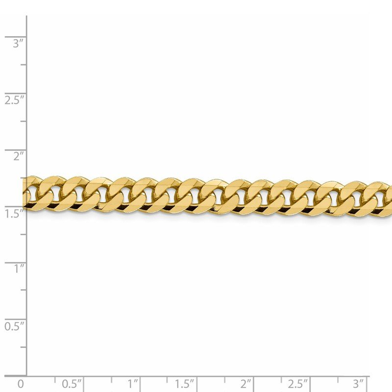 Leslie's Leslie's 14K 8.75mm Flat Beveled Curb Chain