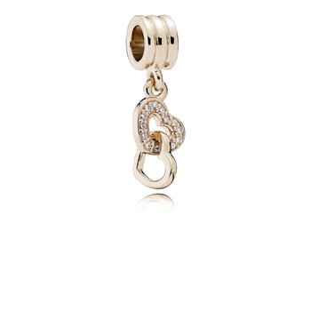 Interlocking Love, Pandora Rose™ Cz