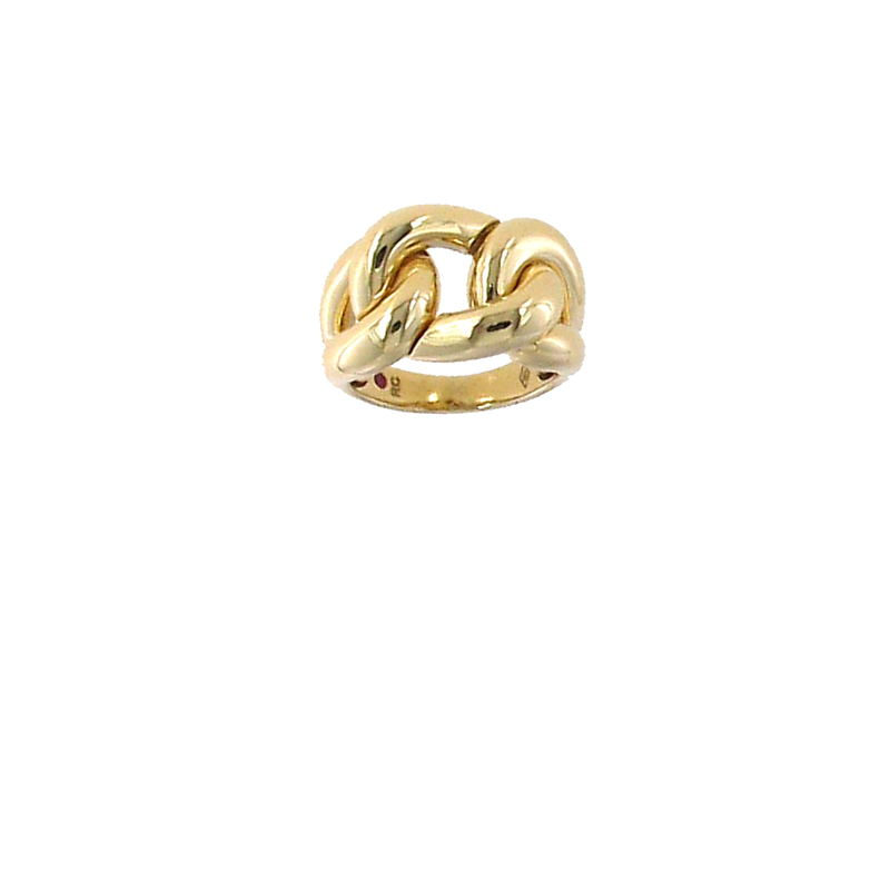 Roberto Coin 18KT GOLD LINK RING