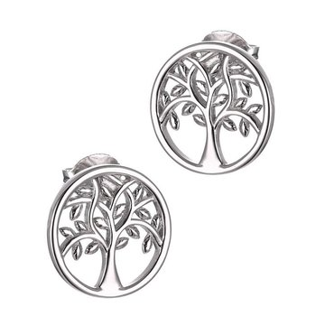 Tree Stud Earrings