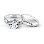 Zeghani ZR622 WEDDING SET