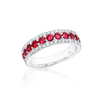 None Like You Ruby and Diamond Ring