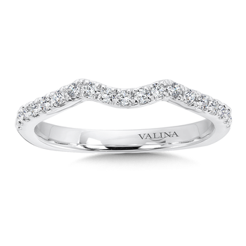 Diamond and 14K White Gold Wedding Ring (0.21 ct. tw.)