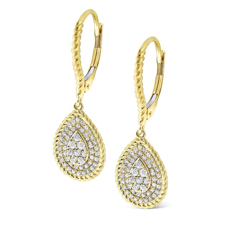 KC Designs 14K Diamond Fashion Earrings