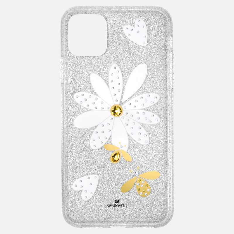 Swarovski Eternal Flower Smartphone Case with Bumper, iPhone® 11 Pro Max, Light multi-colored