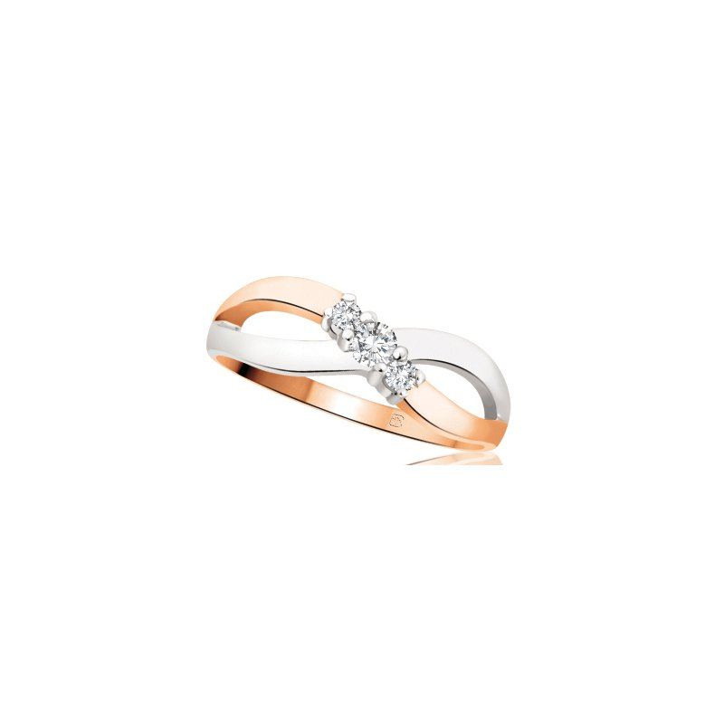 Diamond Wishes Diamond Ladies Three Stone Ring
