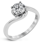 Simon G MR2958 ENGAGEMENT RING