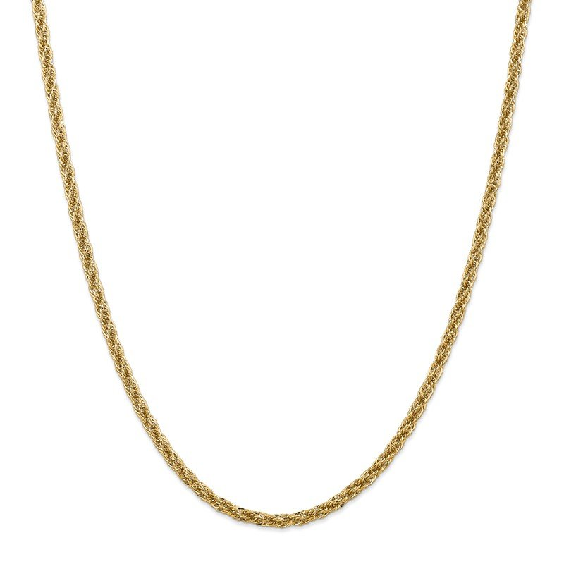 Quality Gold 14k 3.3mm D/C Semi-Solid Chain