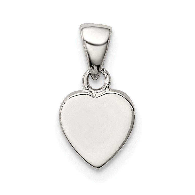 Quality Gold Sterling Silver Heart Pendant