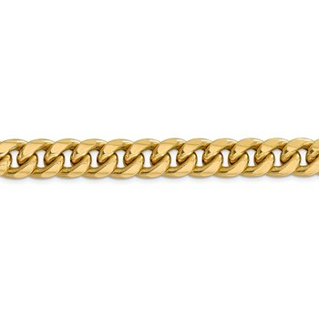 14k 11mm Semi-Solid Miami Cuban Chain