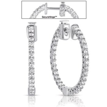 1  Securehinge Hoop Earring