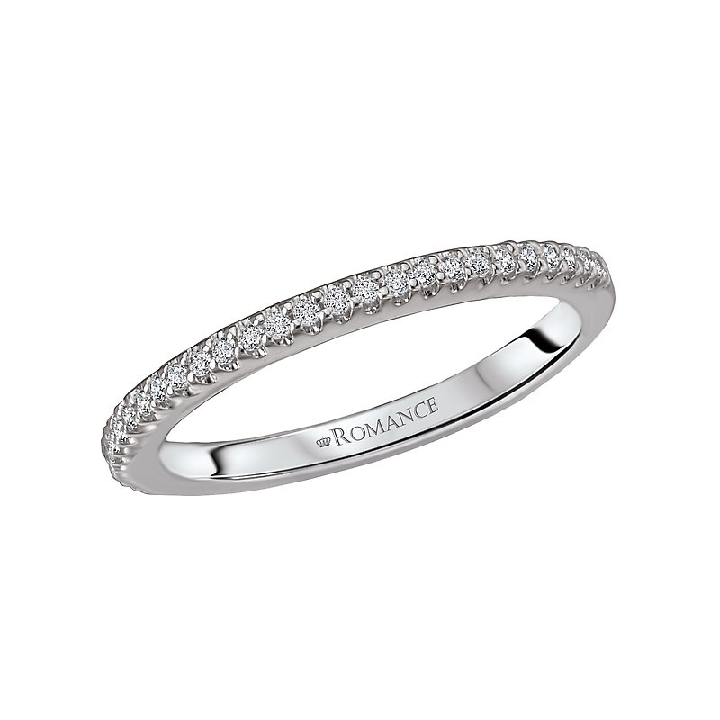Romance Diamond Wedding Band