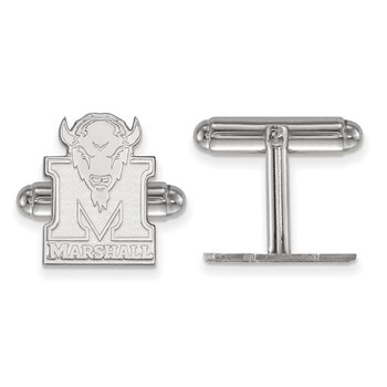Sterling Silver Marshall University NCAA Cuff Links