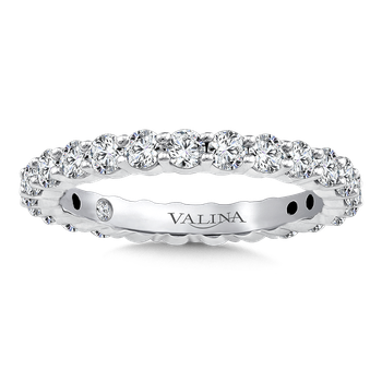 Valina Eternity Band (Size 6.5) in 14K White Gold (1.29ct. tw.)