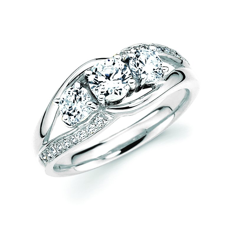 J.F. Kruse Signature Collection Ring RD B 1.00 RD P STD
