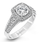 Simon G MR2341 ENGAGEMENT RING