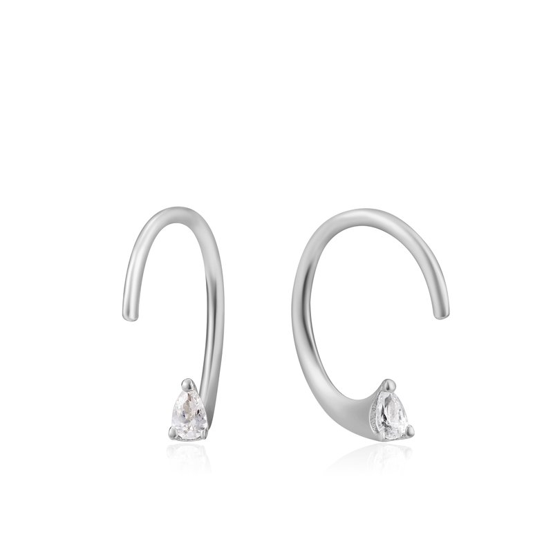 Ania Haie  Twist Sparkle Earrings