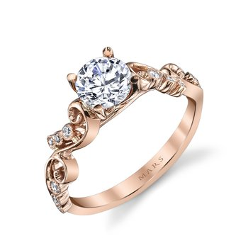 Diamond Engagement Ring 0.08 ct tw
