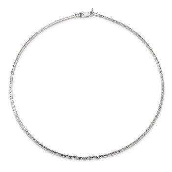 Sterling Silver Hammered Reversible 2.5mm Cubetto Chain