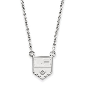 Sterling Silver Los Angeles Kings NHL Necklace