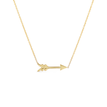 18Kt Arrow Necklace