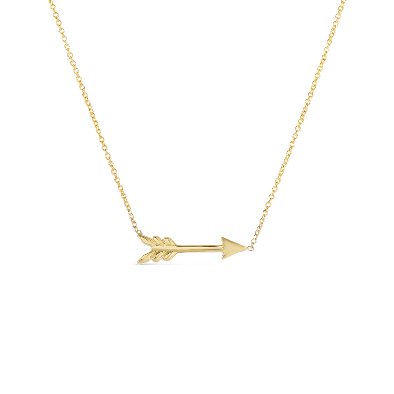 Roberto Coin 18Kt Gold Arrow Pendant
