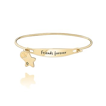 Friends Forever ID Bangle