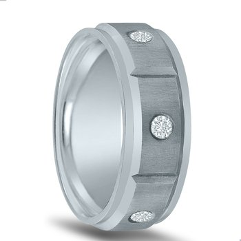 Men's 3/8 Carat Diamond Wedding Band ND01957 by Novell