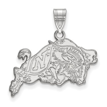 Sterling Silver United States Naval Academy NCAA Pendant