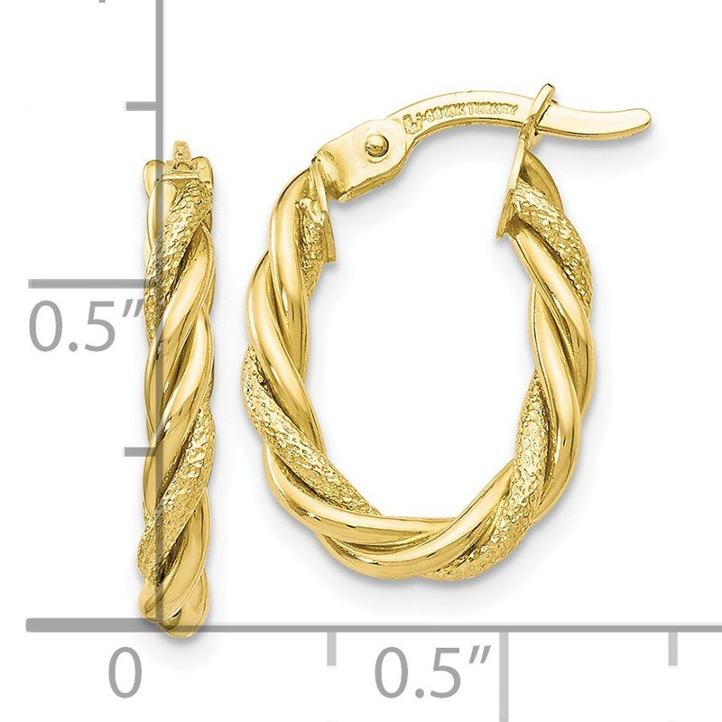 mondevio watches overstock product free earrings hoop today jewelry round mm gold shipping