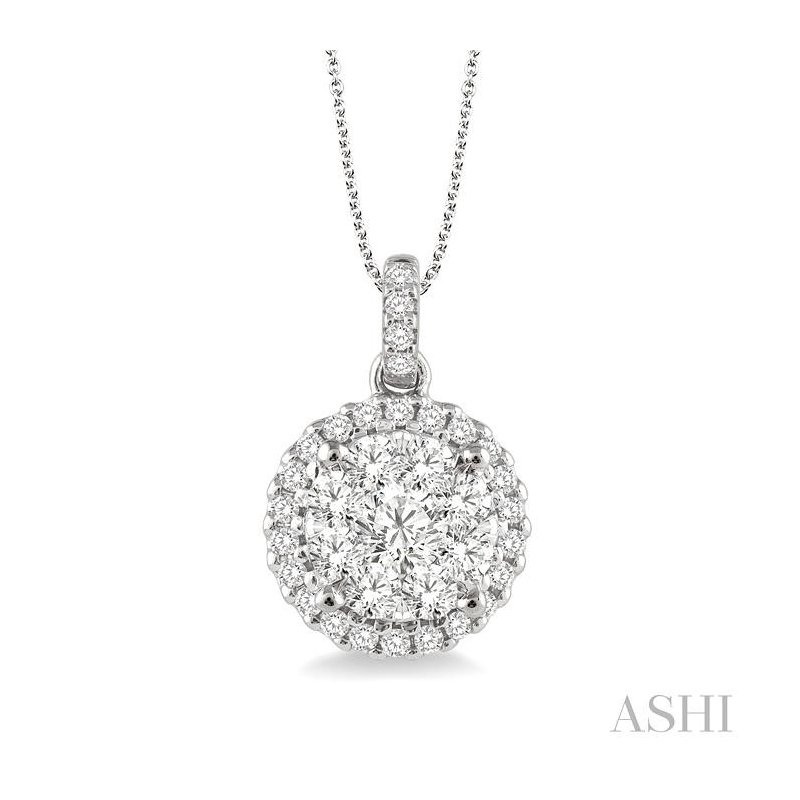 Crocker's Collection lovebright essential diamond pendant