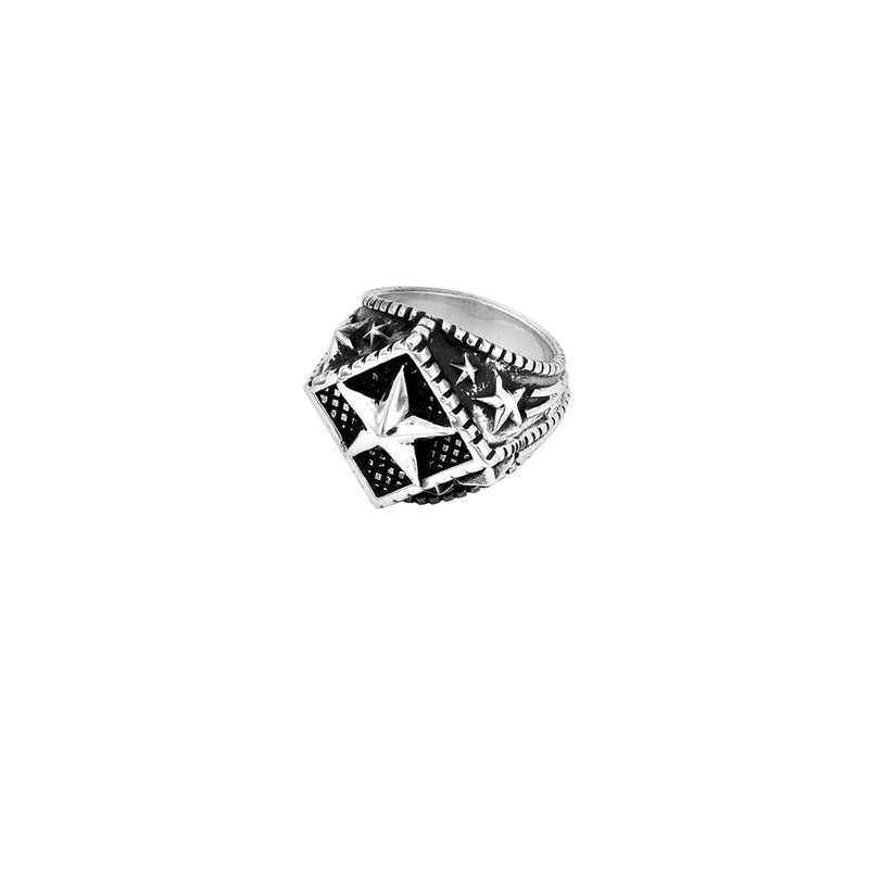 King Baby Diamond Star Ring