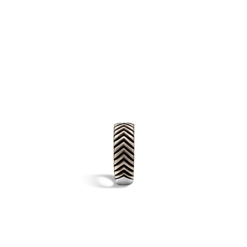 John Hardy Bedeg Triangle Line Pattern Band Ring