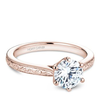 Noam Carver Vintage Engagement Ring B140-17REA