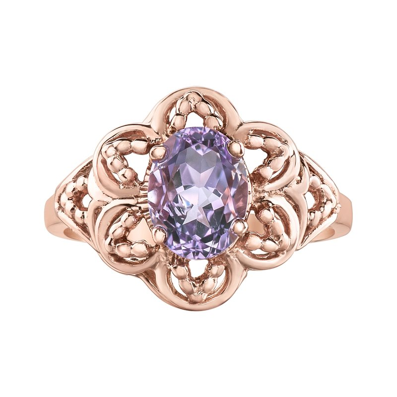 Timeless Beauty Lilac Amethyst Ladies Ring