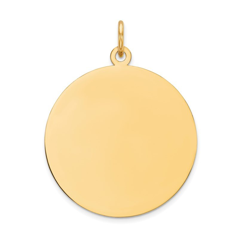 Fine Jewelry by JBD 14K Round Disc Charm