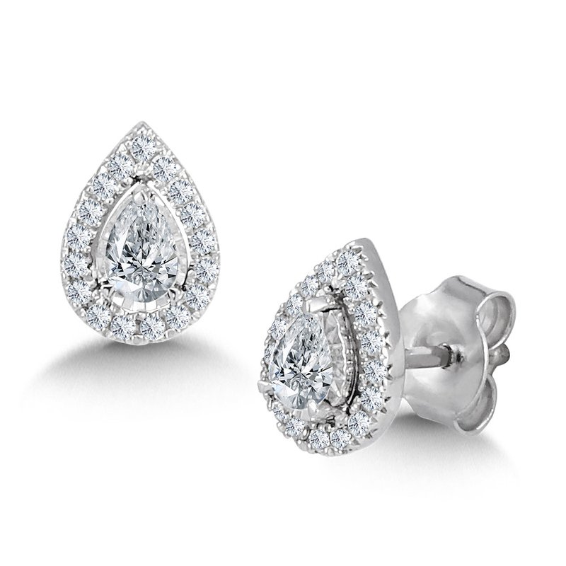 SDC Creations Diamond Star Pear-Shaped Earrings