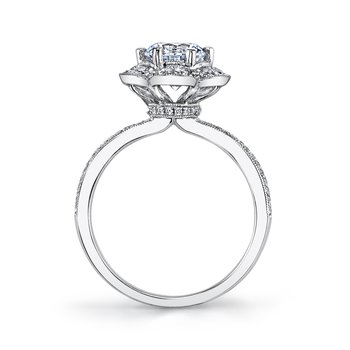 MARS 26214 Diamond Engagement Ring 0.44 Ctw.
