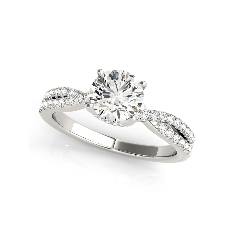 Trellis Engagement Ring
