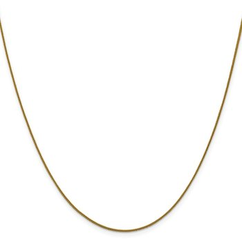 Leslie's 14K .8 mm D/C Square Spiga Chain