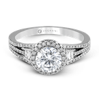 Zeghani ZR1167 ENGAGEMENT RING