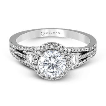 ZR1167 ENGAGEMENT RING