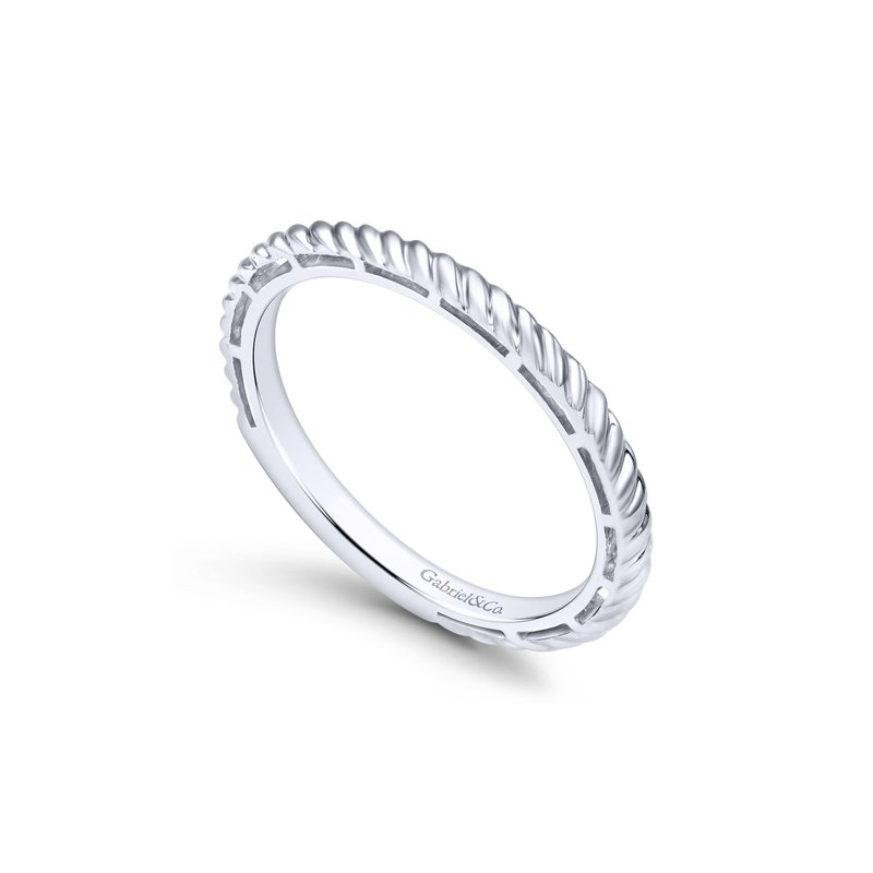 Amavida 14K White Gold Fashion Ladies Ring